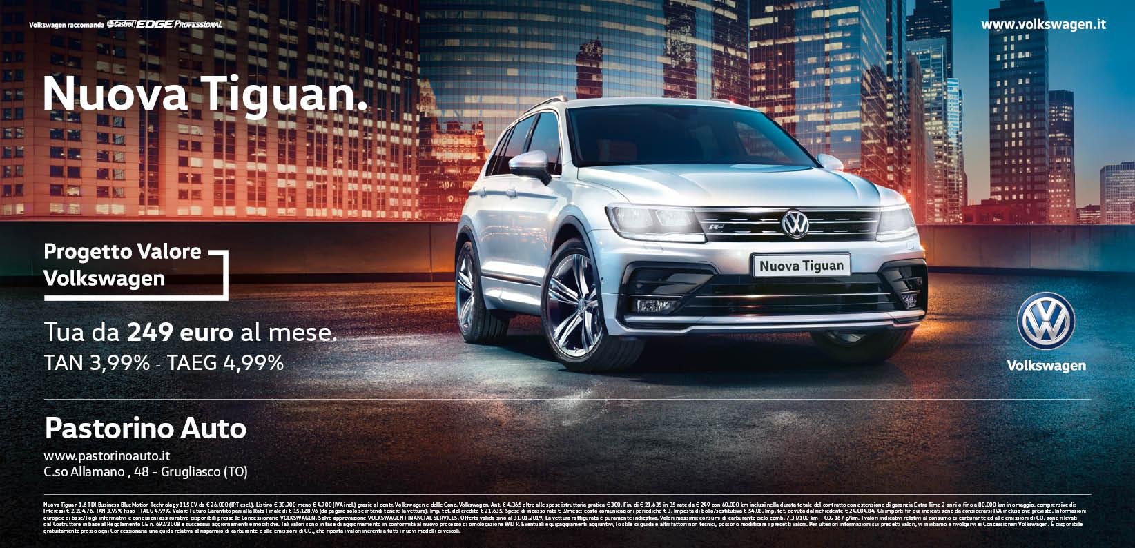 Pastorino Concessionaria Volkswagen Torino